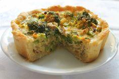 Las Recetas de Maria: Tarta de brócoli