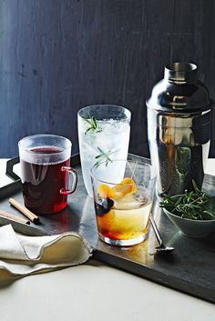 Holiday Glogg Cocktail #drinks #holiday #celebrate
