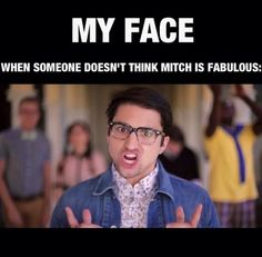 Exactly. Except for me, I usually want to just start crying. Ugh. Why is my life so hard? Well I don't mind because Mitch is worth it.