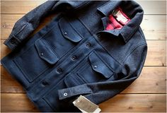 I finally got one of these.....<> Filson Cruiser Jacket