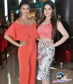 Hate Story 3 Trailer Launch -- Daisy Shah and Zarine Khan Picture # 320063