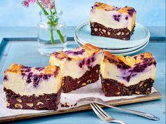 Unser beliebtes Rezept für Blaubeer-Brownie-Käsekuchen und mehr als 55.000 weitere kostenlose Rezepte auf LECKER.de.