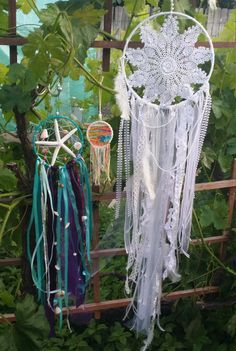 Hey, I found this really awesome Etsy listing at https://www.etsy.com/listing/291134989/handmade-dreamcatchers-mermaid