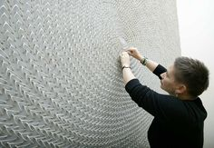 22,000+ wishbones, a mural by kate mccgwire