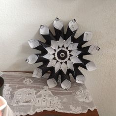 Sheet Music Paper Cone Wreath With by GracelinePaperStudio on Etsy