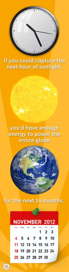 That's seriously solar! #mindblown