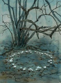 Fairy ring by liga-marta.deviantart.com on @deviantART