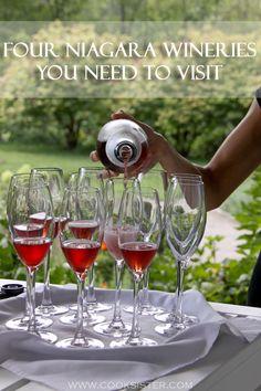 Four gorgeous wine estates in Niagara, Canada that you *need* to visit!