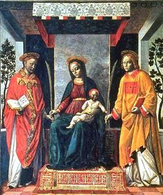 Vincenzo Foppa's Virgin and Child, ca 1480, by Foppa Vincenzo