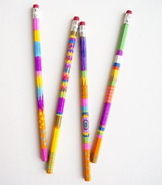 If you have a friend who loves to write, then these super simple sharpie-colored pencils are a thoughtful gift you can DIY for their birthday!