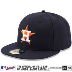 07e8759d26c Houston Astros Authentic Collection On-Field 59FIFTY Game Cap - MLB.com  Shop Houston
