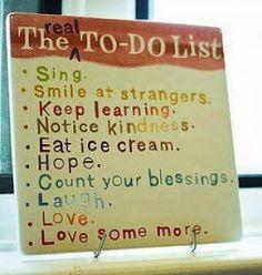 Nice to-do-list