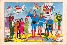 Superman Family by Curt Swan