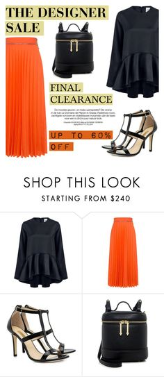 """""""The designer sale: Up to 60% OFF"""" by ifchic ❤ liked on Polyvore featuring Edit, Karen Walker, Dee Keller and contemporary"""