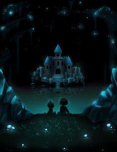 Undertale- Monster Kid and Frisk, Castle Gazing. Undertale Alphys, Undertale Fanart, Frisk, Undertale Drawings, Undertale Comic, Unique Wallpaper, Hd Wallpaper, Undertale Background, Underswap
