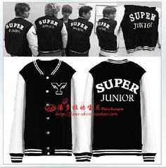 Find More Hoodies & Sweatshirts Information about SUPER JUNIOR SJ ELF East origin silver Hurley Fathi Che Yonsei University baseball clothes with the money,High Quality clothes,China clothes children Suppliers, Cheap clothes parties from Chun Chun clothing on Aliexpress.com