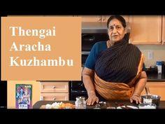 Thengai Aracha Kuzhambu in Tamil - YouTube