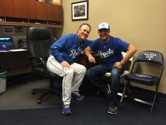 Clint Bowyer at the Royals