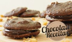 Chocolate Receitas: Cookie de Chocolate