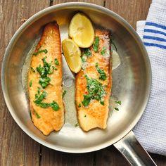 Linguado a Meunière (com suco de limão e manteiga) | Eu Como Sim #peixe #receita #frutosdomar