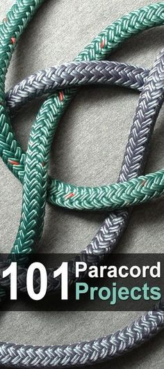 101 Paracord Projects. If you're a #paracord enthusiast, then I have the ultimate article for you. PrepperZine made a list of 101 #paracordprojects complete with a table of contents, instructions, pictures, and videos. He even lets you know the difficulty level of the project and how long it should take. #Urbansurvivalsite #DIY