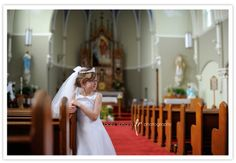Sacred Heart, Saint Anthony, IN First Communion Portraits www.laceyreimann.com