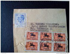 RARE TURKEY 1967 5/10 KURUS ATATURK INSTANBUL-IZMIR RECOMMENDET PACKAGE-LETTRE ON PAPER COVER USED SEAL - 1921-... Republic