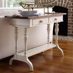 I pinned this Stanley Furniture Coastal Living Console Table from the Madcap Cottage event at Joss and Main!