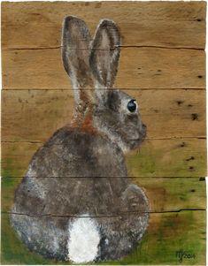 Afbeeldingsresultaat voor konijn schilderij