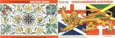 Flags And Emblems Brooke Bond PG Tips Tea Cards Album 1967
