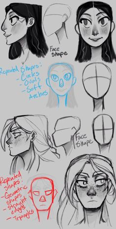 College work: Alara and Dagny concepts Pt. 1 by the-Orato College-Arbeit: Alara und Dagny Konzepte Pt. 1 von the-Orator auf deviantART College work: Alara and Dagny concepts Pt. 1 by the-Orator on deviantART, - Art Reference Poses, Design Reference, Drawing Reference, Anatomy Reference, Drawing Techniques, Drawing Tips, Drawing Sketches, Sketching, Face Sketch