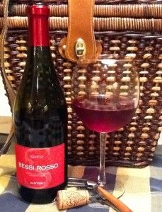 This is my favorite Wine EVER if you like sweet wine it's a MUST!!  Bessi Rosso - best sweet red wine EVER!