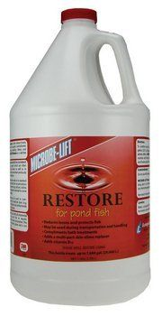 Ecological Laboratories RESTP32 MICROBE-LIFT Restore 32 oz. by Ecological. $15.57. Use MICROBE-LIFT/Restore to calm, reduce losses, ease stress, and protect fish, aquatic invertebrates and amphibians during handling, illness and trans- portation. *Reduces losses*Protects fish*May be used during transportation and handling*Compliments bath treatments*Adds a multi-part skin-slime replacer*Adds vitamin B12MICROBE-LIFT/Restore is a salt-free formulation.MICROBE-LIFT/Restore helps det...