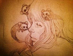 Martineken Blog — Stunning drawings by Chiara Bautista