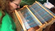 Youtube video on how to do waffle weave on the rigid heddle loom.