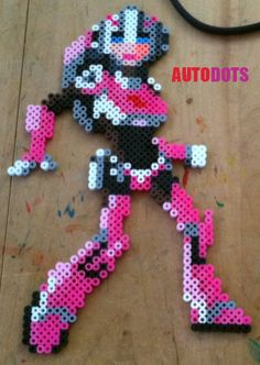 Arcee - Transformers - Perler Beads