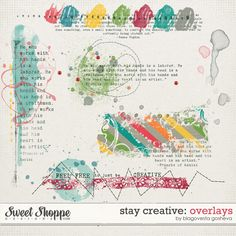 Stay Creative: Overlays by Blagovesta Gosheva