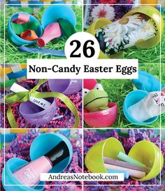 26 ways to fill Easter eggs without candy