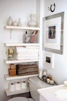 Ideas imprescindibles para organizar un baño pequeño