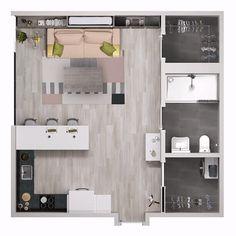 Resource Furniture micro apartment transforming furntiure