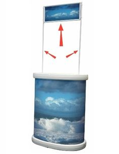 Tornado Outdoor Displayer Promotional Stands, Outdoor Banners, Exhibition Display, Expo Stand