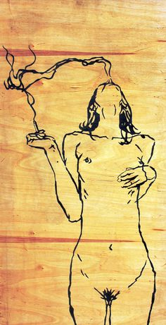 Check out this item in my Etsy shop https://www.etsy.com/il-en/listing/530253379/naked-girl-smokes-modern-painting-fine