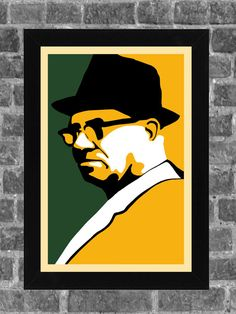 Green Bay Packers Vince Lombardi Portrait