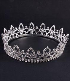 Tiara Crown Bridal or Sweet 16 by JPoliseno on Etsy, $55.00