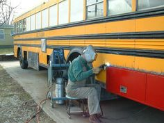 School Bus Conversion Resources - Recently Updated Albums School Bus Tiny House, School Bus House, Magic School Bus, Converted School Bus, Rv Bus, Bus Living, Short Bus, School Bus Conversion, Bus Life