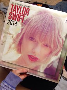 2014 Taylor Swift calendar that is available at Walmart.I neeeeeed! Taylor Swift 2014, Live Taylor, 1989 Tour, State Of Grace, Swift Photo, Swift 3, Female Singers, My Idol