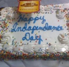 Cake Wreck. Happy 2ndapendance Day?