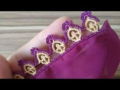 Tatting Jewelry, Crochet Videos, Chrochet, Make It Yourself, Lace, Crowns, Couture, Projects, Design