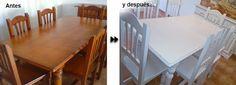 DecoRecicla tuneado de muebles