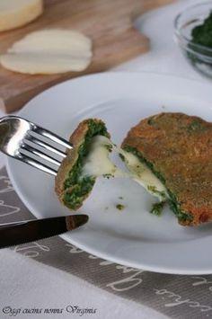Spinacine al formaggio,Oggi cucina nonna Virginia